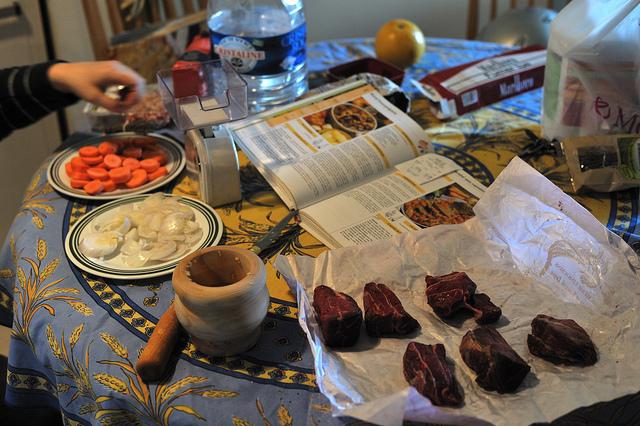 Assembling ingredients. (zenithe, CC-ND.)