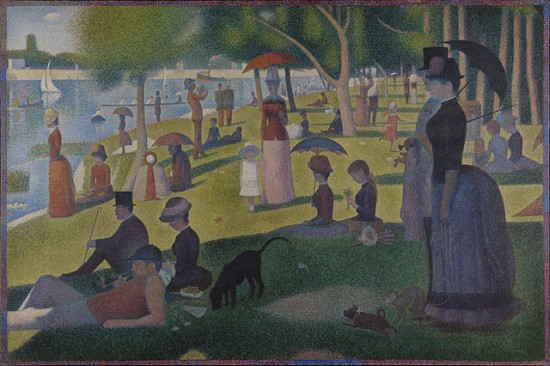 "Georges Seurat, ""A Sunday on La Grande Jatte"". (Wikipedia.)"