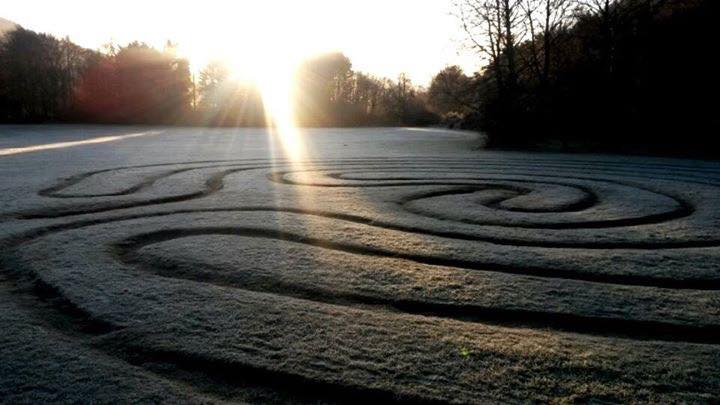 labyrinth - glendalough