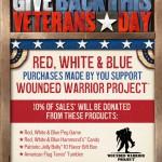 cracker barrel - veterans day sign