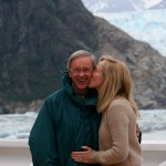 """Dr. Charles Stanley with his daughter, Becky Stanley Brodersen. """"My dad is one of my best friends,"""" says Becky. (Photo courtesy of In Touch Ministries)"""