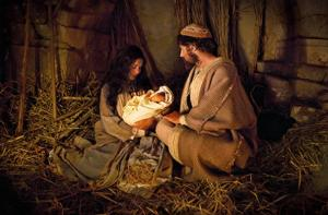 The Nativity, from LDS.org.