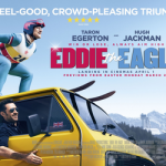 Eddie the Eagle takes flight, but doesn't quite soar