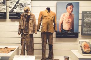 Nuclear War: Nagasaki, JAPAN - SEPTEMBER 25, 2016: The Nagasaki Atomic Bomb Museum is in the city of Nagasaki, Japan. Shuttertock