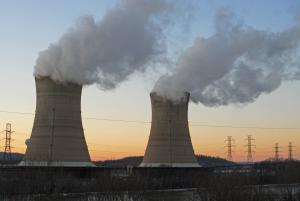 Nuclear power plant at Three Mile Island, A. L. Spangle/Shutterstock