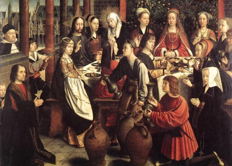 "David Gerad, ""The Marriage at Cana"""