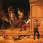 early american dancing scene