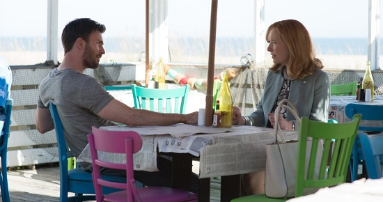 "Chris Evans and Lindsay Duncan, as Frank and Evelyn in ""Gifted"""