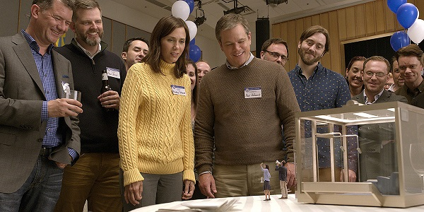 "Kristen Wiig and Matt Damon, as Audrey and Paul, in ""Downsizing"""