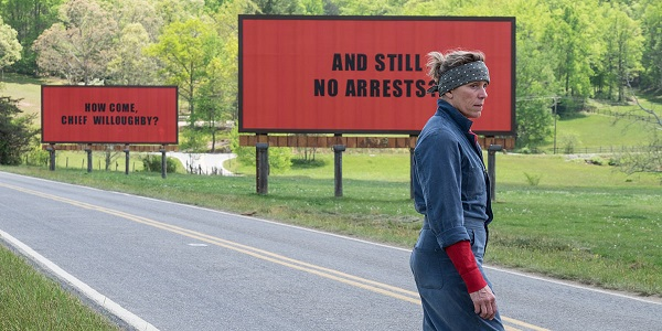 """Frances McDormand as Mildred Hayes, in """"Three Billboards outside Ebbing, Missouri"""""""