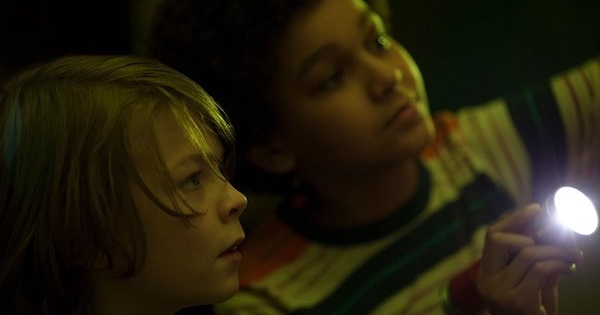 "Oakes Fegley and Jaden Michael, as Ben and Jamie, in ""Wonderstruck"""