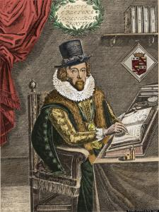 Francis Bacon (1561-1626) was an English philosopher who defended the Scientific Revolution. In his most important work, Novum Organum, he proposed a rational method for scientific inquiry, one based on observation and experimentation. Colored Version of