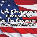 Patheos Atheist Channel LIVE Election Day Twitter Feed