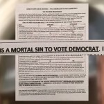 Catholic Church Tells Flock Voting for Clinton is a Mortal Sin Deserving of Hell