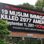 NC Pastors Share Love of Jesus by Erecting Anti-Immigration Billboard