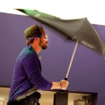 SENZ umbrella testing - photo by Eelke Dekker