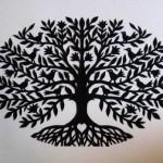 Tree with birds, by Mary Hart