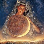 "Josephine Wall, ""Moon Goddess"""