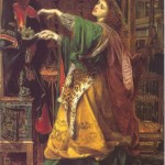 Morgan le Fay, by Frederick Sandys