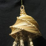 A Hereford Lantern corn dolly