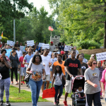 August 15 protests in Ferguson. Photo by Loavesofbread