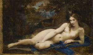 """""""Diana Reposing"""", by Paul-Jacques-Aimé Baudry [Public domain], Walters Collection, via Wikimedia Commons"""