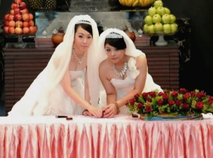 """Same-sex-marriage-taiwan"" by Guy of taipei - Own work. Licensed under CC BY-SA 3.0 via Wikimedia Commons - https://commons.wikimedia.org/wiki/File:Same-sex-marriage-taiwan.jpg#/media/File:Same-sex-marriage-taiwan.jpg"