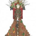 Morrigan / Anu Devotional Art