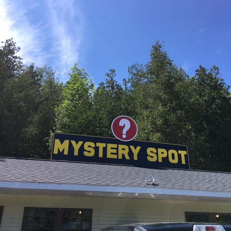 We are looking for all the mystery spots.