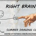 righ brain summer drawing club logo