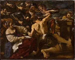 carlin guercino samson philistines