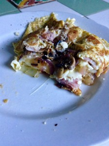 A good omelette makes up for a lot. A LOT.