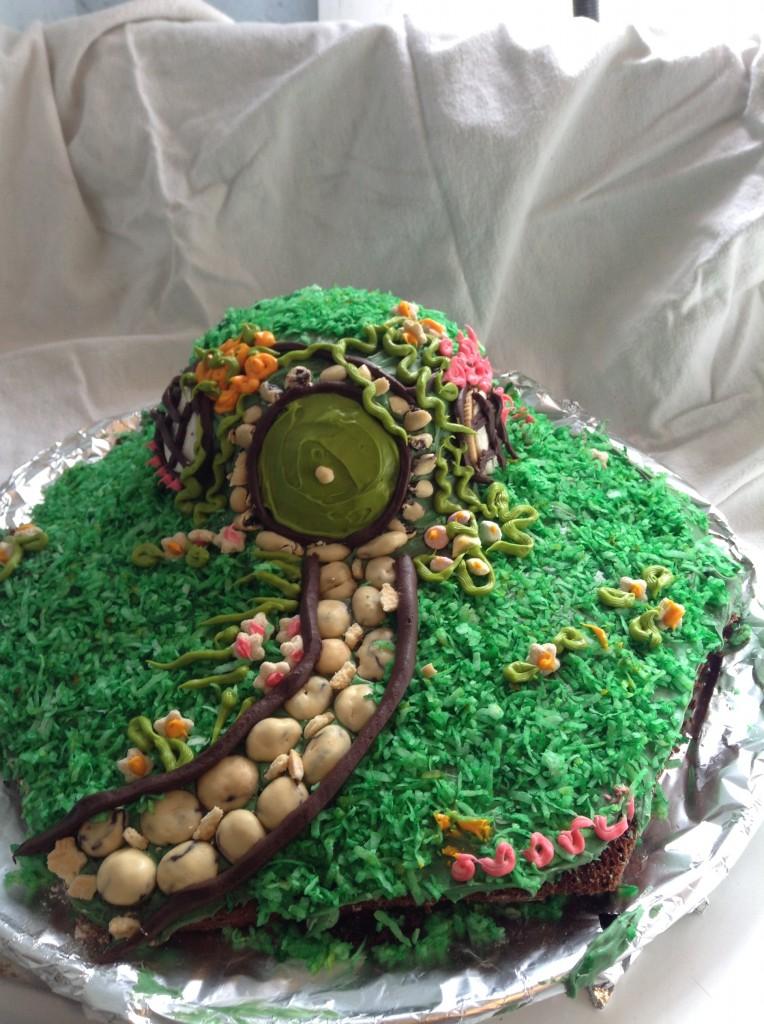 food blog hobbit cake