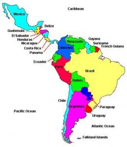 Breaking Down Latin American History - Us latin american intervention maps