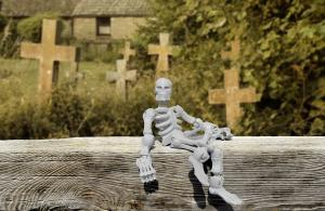 Have a haunted skeleton in this post.