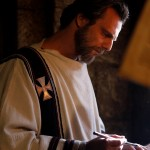 lesandro Preziosi plays Augustine during his young- and mid-adult years in RESTLESS HEART. St. Augustine was among the first group of four Doctors of the Church proclaimed in 1295 by Pope Boniface VIII. St. Augustine's writing remain today among the most respected and beloved in the Catholic Church. Photo curtesy of Ignatius Press.