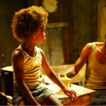 Hushpuppy (Quvenzhané Wallis) is 6 years old and the only child of Wink (Dwight Henry) in Beasts of the Southern Wild Fox Searchlight
