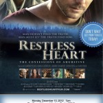"""Restless Heart: The Confessions of St. Augustine"" theatrical screening 12/10/12 in Los Angeles"