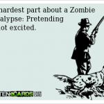 Do we need the zombie apocalypse?