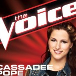 The Voice – they are all winners but I am voting for Cassadee Pope (and she won!)