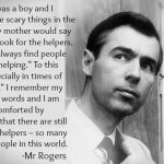 Hope in disaster from Mr. Rogers