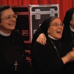 Suor Cristina's co-nuns like her performance, too