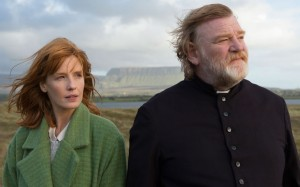 "From left, Kelly Reilly and Brendan Glesson in ""Calvary"" (Photos by Fox Searchlight Pictures)"