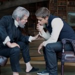 "Jeff Bridges, left, and Brenton Thwaites star in ""The Giver"" (©The Weinstein Company)"