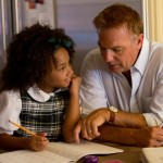 "Kevin Costner and Jillian Estell in ""Black or White"" (CNS/Relativity)"
