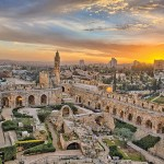 Jerusalem's iconic Citadel (now the Tower of David Museum of the History of Jerusalem) is a fortress with archaeological findings spanning over 2,000 years. Dustin Farrell/ Jerusalem US LP.