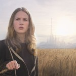 "Britt Robertson stars in a scene from the movie ""Tomorrowland."" (CNS/Disney)"