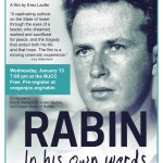 """Rabin in His Own Words"" is a testament to peace"