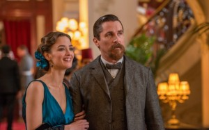 "Charlotte Le Bon and Christian Bale in ""The Promise"" (Survival Pictures/Jose Haro)"