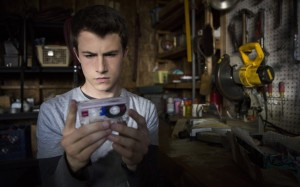 """Dylan Minnette in the Netflix series """"13 Reasons Why"""" (Beth Dubber/Netflix)"""